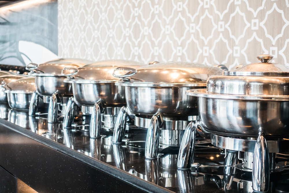 Una celebración con catering