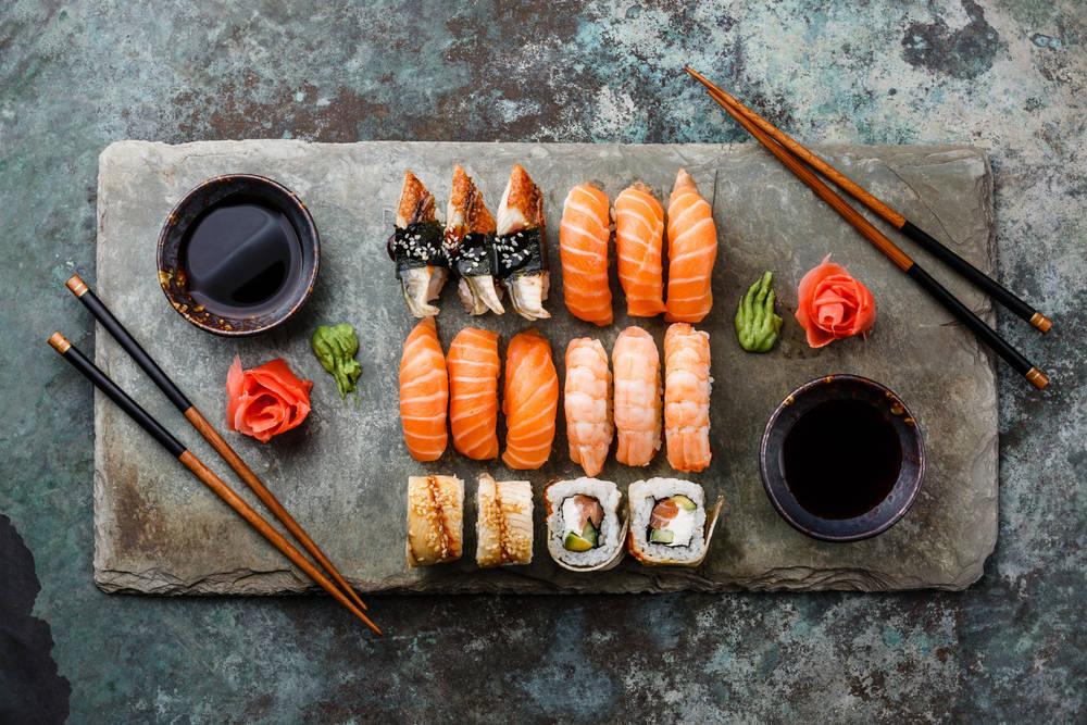 El sushi, una original forma de cuidarse
