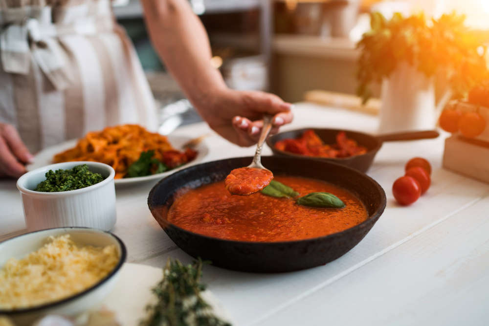 Recetas con salsa de tomate casero
